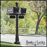 Greenbrier Double Mail Box Complete System