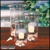 Hammered Hurricane Terrarium - Large