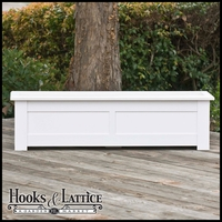 "Hampton Deck Planter w/ Feet 72""x12""x12"""