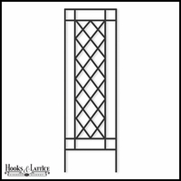 Highwood Framed Lattice Trellis - 24in.W x 88in.H