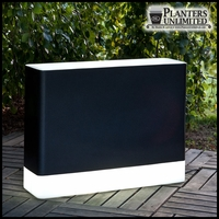 Illuminated Rectangular Planters