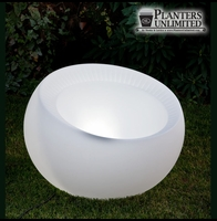 Illuminated Sphere Planters