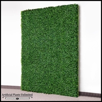 Indoor Artificial Boxwood Living Wall