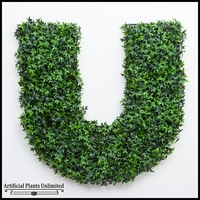 Outdoor Artificial Living Wall Letters