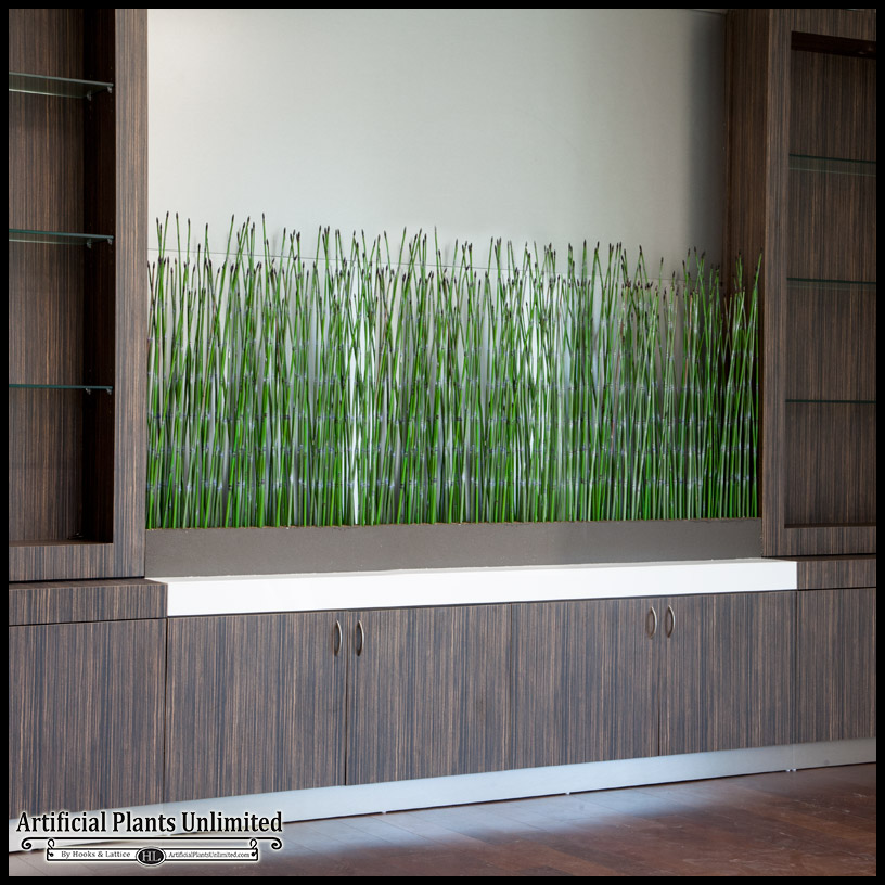 Breathe new life into design spaces with indoor artificial horsetail