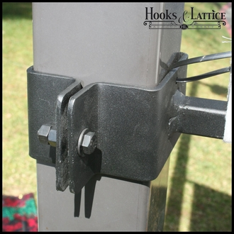 Iron Straight Arm Banner Brackets