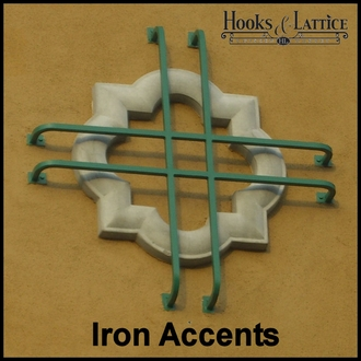 Iron Window Accents
