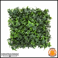 Ivy Foliage Mat, Inherently Fire Retardant, IFR 12inx12in