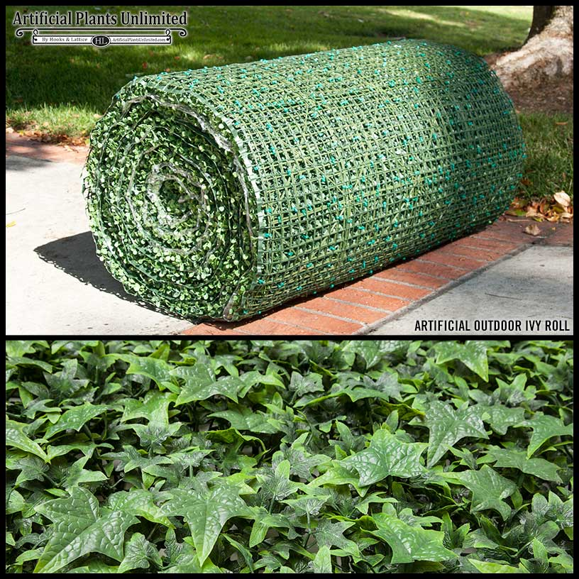 Outdoor Artificial Ivy Rolls Plants Unlimited