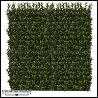 Japanese Boxwood Angled Foliage Tile- 40in. Square, Indoor