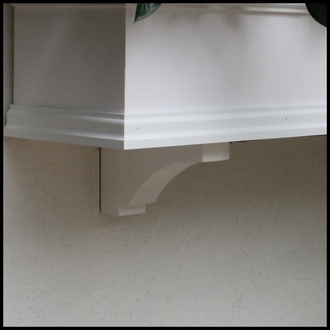 """Laguna Premier Window Box w/ """"Easy Up"""" Cleat Mounting System"""