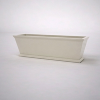 Laguna Tapered Premier Composite Commercial Planter 60in.L x 18in.W x 18in.H