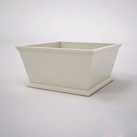 Laguna Tapered Premier Composite Commercial Planter 36in.L x 36in.W x 18in.H