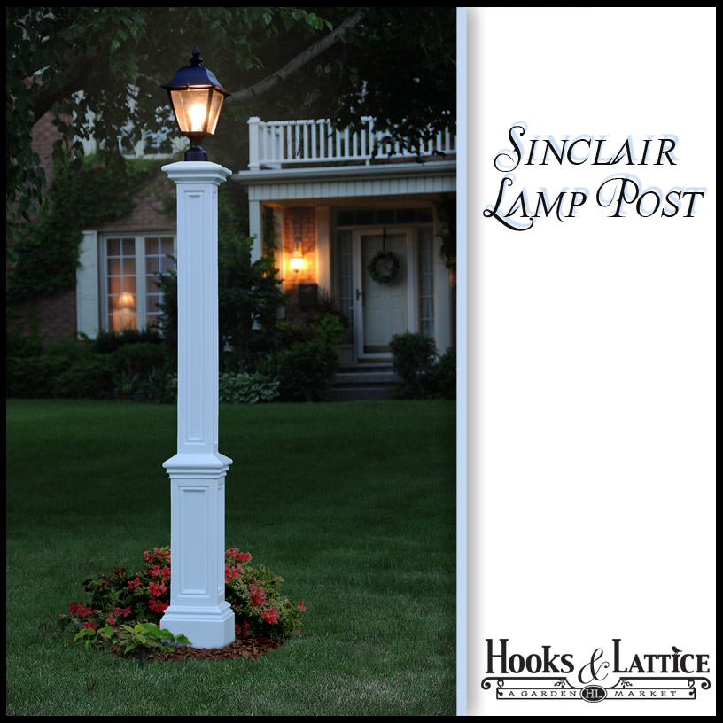lamp posts decorative lamp post residential outdoor lighting post. Black Bedroom Furniture Sets. Home Design Ideas