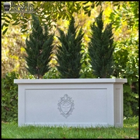 Large Commercial Planters with Company Logo