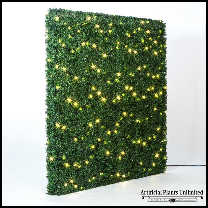 Lighted Boxwood Hedge Assorted Sizes
