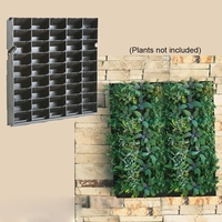 """Living Wall Planter with Mounting Bracket - 20""""W x 20""""H"""