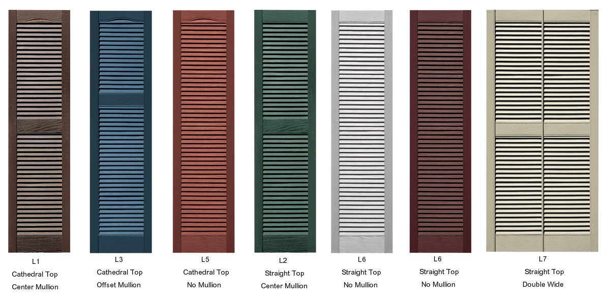 Exterior shutter color ideas joy studio design gallery for Plastic window shutters exterior