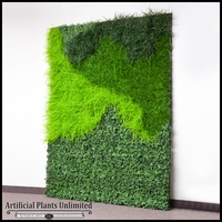 Lush Indoor Artificial Living Wall