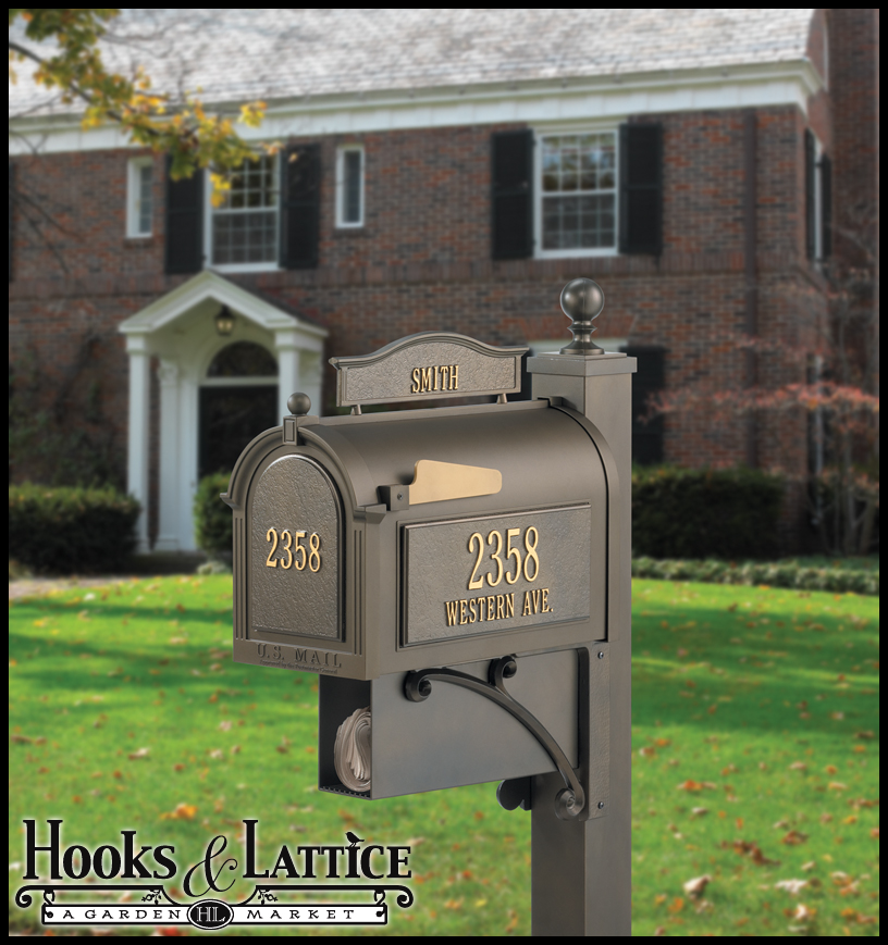 Postmaster Mailbox Post: Post Mount Mailboxes