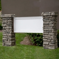 Mainstay Model Monument Sign - Faux Stone - 10ft.L x 5ft.H