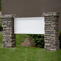 Mainstay Model Monument Sign - Faux Stone - 8ft.L x 5ft.H
