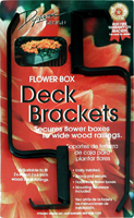 Medallion Deck Bracket (Pair)