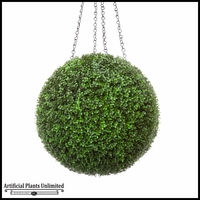 Modern Hanging Topiary Spheres