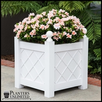 Modern Lattice Planter