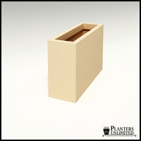 Modern Rectangle Planter 36in.L x 12in.W x 24in.H