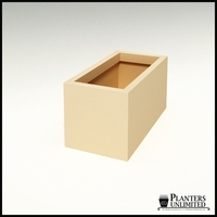"Modern Rectangle Planter 36""L x 18""W x 18""H"