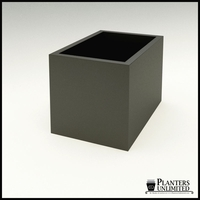 "Modern Rectangle Planter 36""L x 24""W x 24""H"