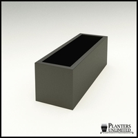 "Modern Rectangle Planter 48""L x 16""W x 16""H"