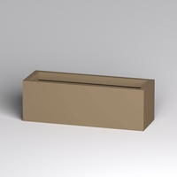 Modern Rectangle Planter 48in.L x 16in.W x 16in.H