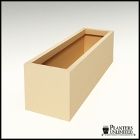 "Modern Rectangle Planter 60""L x 18""W x 18""H"