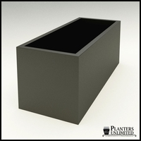 "Modern Rectangle Planter 60""L x 24""W x 24""H"