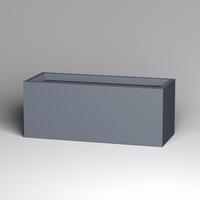 Modern Rectangle Planter 60in.L x 24in.W x 24in.H