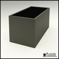 "Modern Rectangle Planter 60""L x 30""W x 30""H"