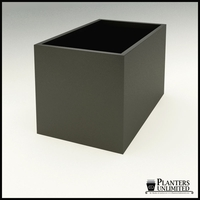 "Modern Rectangle Planter 60""L x 36""W x 36""H"