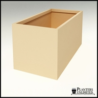 "Modern Rectangle Planter 72""L x 36""W x 36""H"