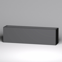 Modern Rectangle Planter 84in.L x 18in.W x 24in.H