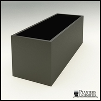 "Modern Rectangle Planter 84""L x 30""W x 30""H"