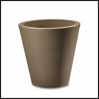 Mondrian 14in. Tapered Planter - Cider