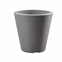 Mondrian 16in. Tapered Planter - Slate