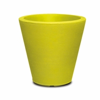Mondrian 16in. Tapered Planter - Wasabi