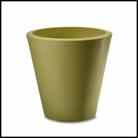 Mondrian 14in. Tapered Planter - Citrus