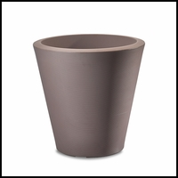 Mondrian 14in. Tapered Planter - Thistle