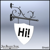 Name-Your-Shape PVC Sign Blanks - 46 x 30 x 1