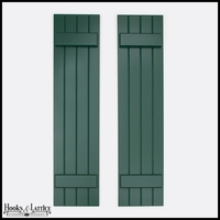 Never-Fail Board and Batten PVC Composite Shutters