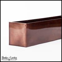 Oil-Rubbed Bronze Galvanized Window Boxes & Planters